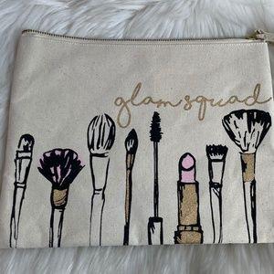 Glam Squad NWT Makeup Bag